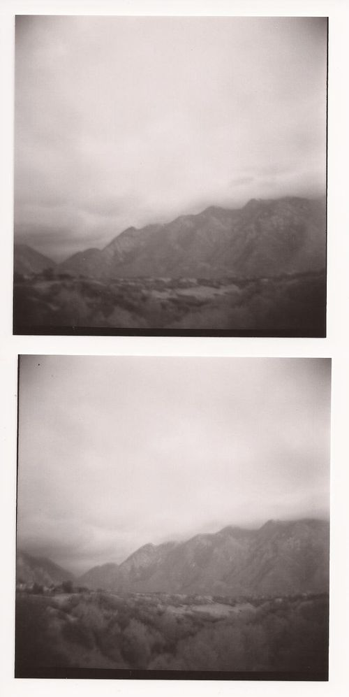 Fall mountains black and white-001